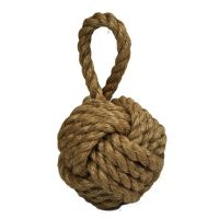 Weighted Manila Rope Doorstop