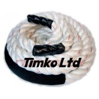 White Polyester Fitness Rope
