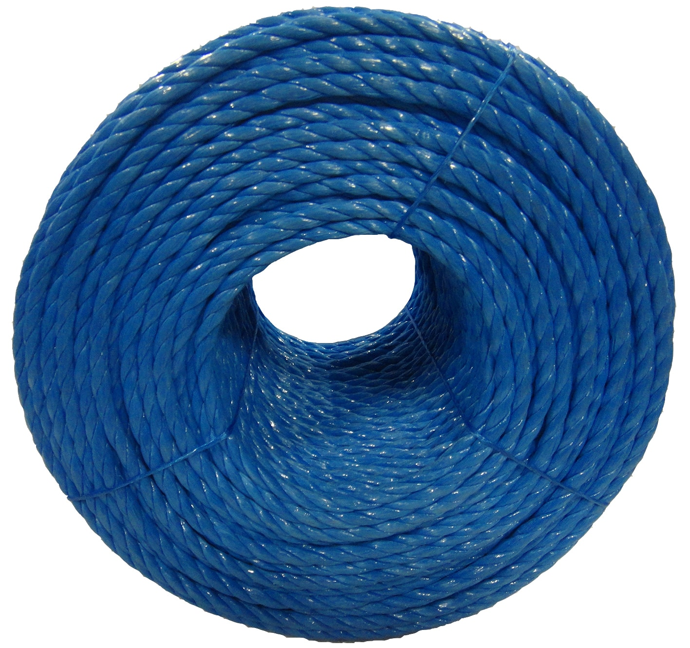 Polypropylene rope - 12mm Dia Blue x 50m Mini Coil