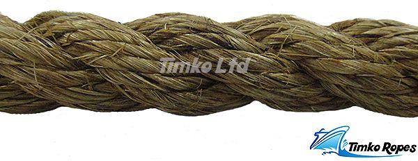 18mm Natural Manila Rope Per Metre