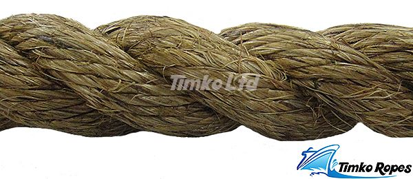 32mm Natural Manila Rope Per Metre