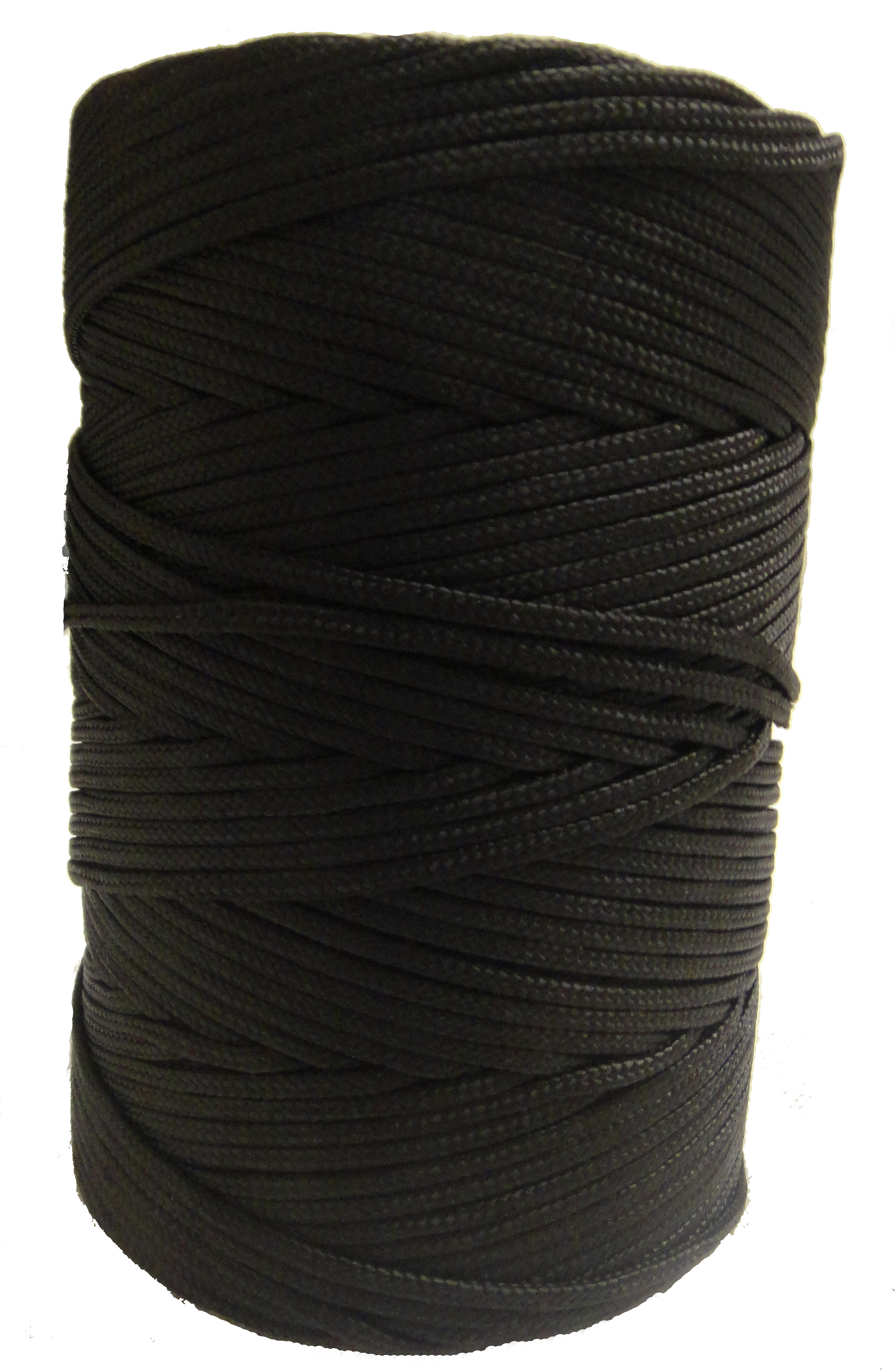 Timko Ltd 2mm Black Braided Nylon Cord X 280m Braided Nylon Twine