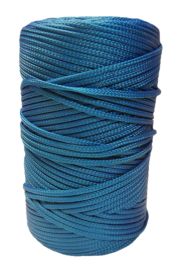 Timko Ltd 2mm Blue Braided Nylon Cord X 280m Braided
