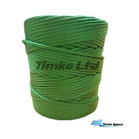 2mm Green Braided Nylon Cord x 280m