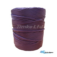2mm Purple Braided Nylon Cord