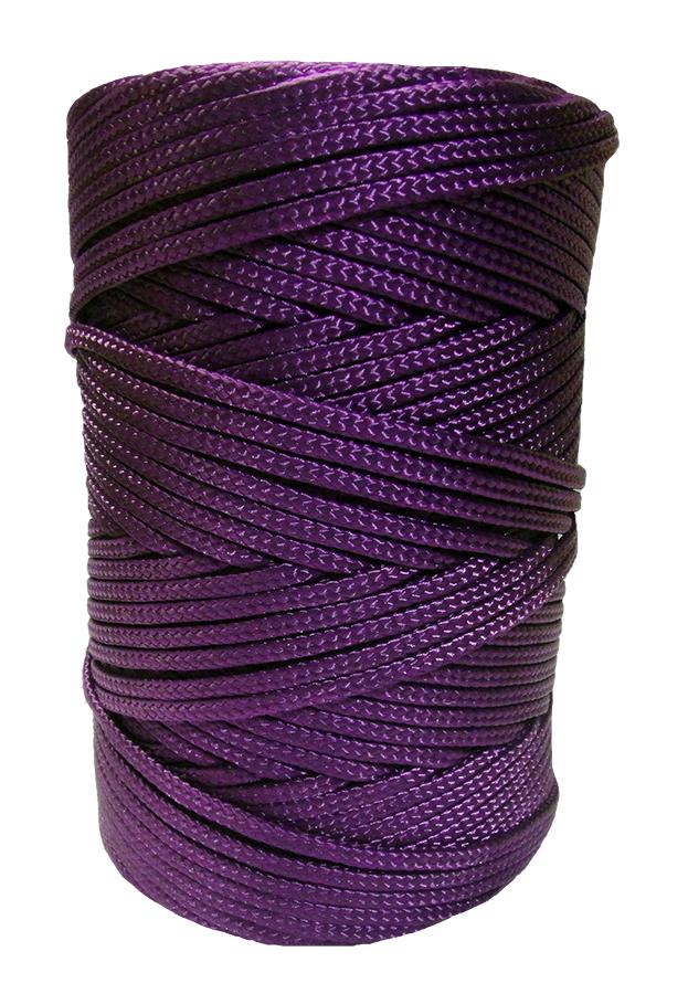 Timko Ltd 3mm Purple Braided Nylon Cord X 180m Braided