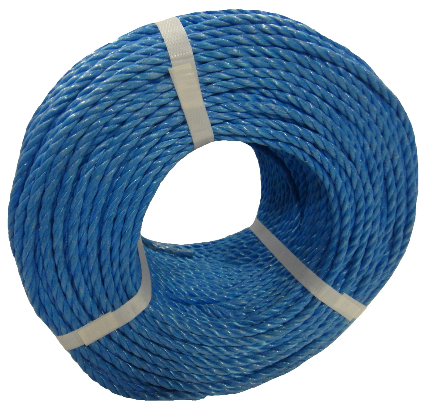 Polypropylene rope - 6mm Dia Blue x 220m Coil