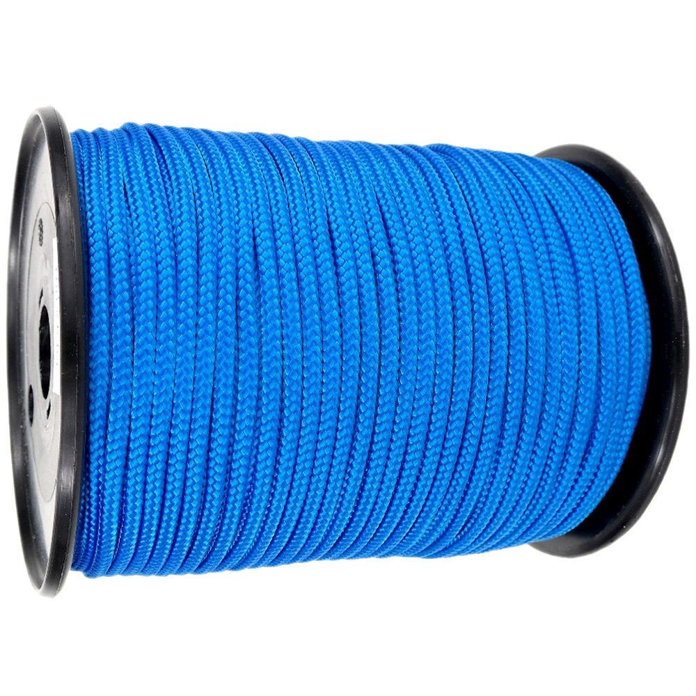 4mm Blue Braided Polypropylene Multicord x 200m