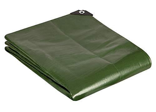 2m x 3m Green 180GSM Waterproof Heavy Duty Tarpaulin Sheet Cover