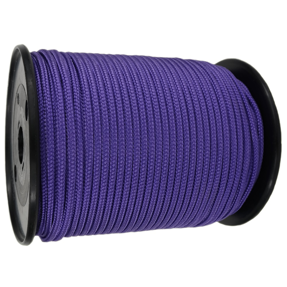 4mm Purple Braided Polypropylene Rope x 200m