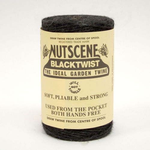 3 Ply Natural Black Jute Twine x 110m Spool