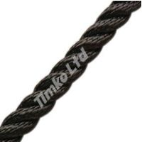 8mm Black Nylon Rope Per Metre