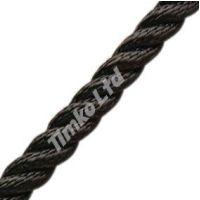 12mm Black Nylon Rope Per Metre