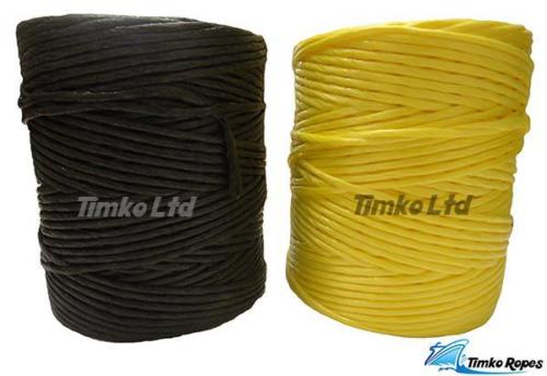 Black & Yellow Polypropylene Twine String Ball
