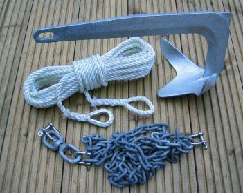 7.5Kg Bruce Style Anchor Package Boat Sail Yacht