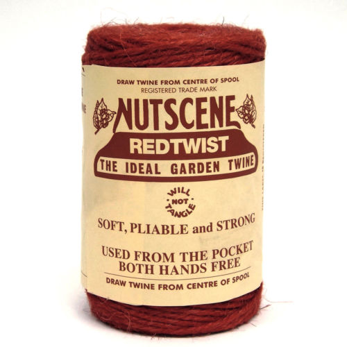 3 Ply Natural Dark Red Jute Twine x 110m Spool