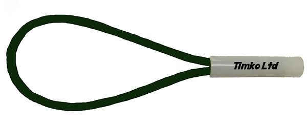 6mm Green Bungee Cord Loop Swivel Ties With Swivel Toggle x 200mm