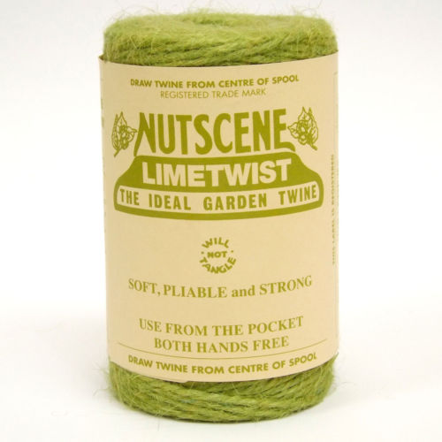 3 Ply Natural Lime Green Jute Twine x 110m Spool