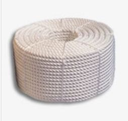 White Nylon Rope - 6mm x 220m Coil