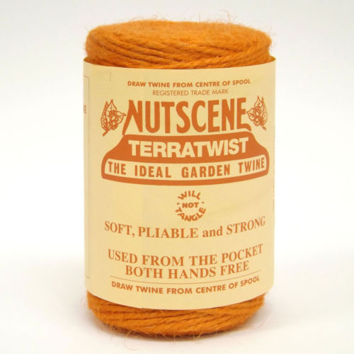 3 Ply Natural Orange Jute Twine x 110m Spool