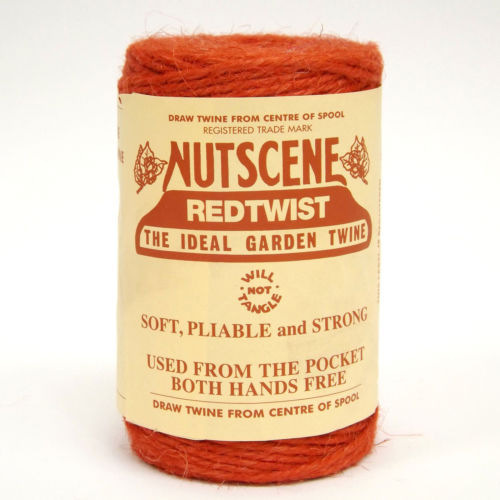 3 Ply Natural Tomato Red Jute Twine x 110m Spool