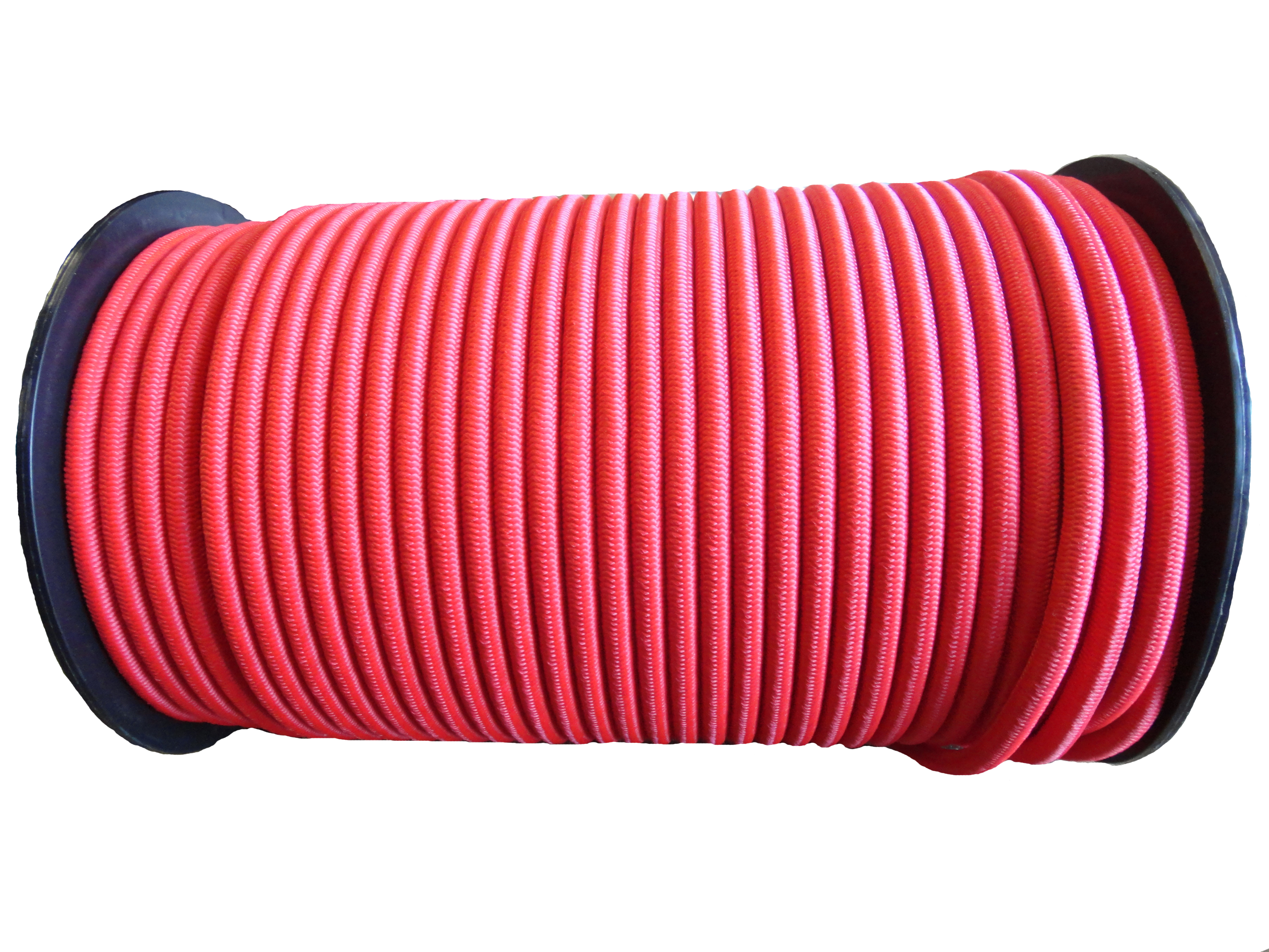 8mm Red Colored Bungee Shock Cord