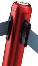 Red Flexibarrier Queuing Post With Strap