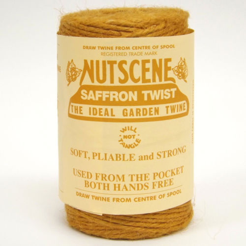 3 Ply Natural Saffron Yellow Jute Twine x 110m Spool