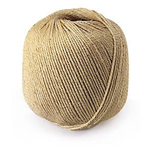 Sisal twine string 3 Ply 3/200m Ball White 2.5kg - Length 500m