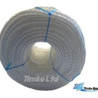 Polypropylene rope - 12mm Dia White x 220m Coil