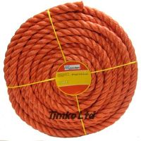 Polypropylene rope - 20mm Dia Red x 50m Mini Coil