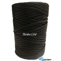4mm Black Braided Nylon Blind Cord x 130m