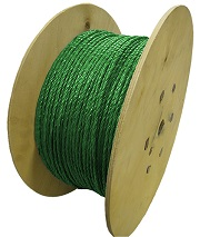 Polypropylene Rope 500m x 6mm Green