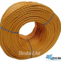 Polypropylene rope - 6mm Dia Orange x 220m Coil