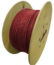 Polypropylene Rope 500m x 6mm Red