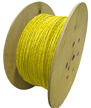 Polypropylene Rope 500m x 6mm Yellow