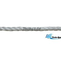 6mm White Polypropylene Rope Sold By The Metre