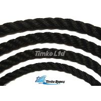14mm Black Multifilament Polypropylene Rope