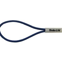 6mm Blue Bungee Cord Loop Swivel Ties With Swivel Toggle x 400mm