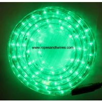 Green LED Rope Light 8m for in & Outdoor use & controller