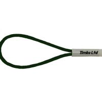 6mm Green Bungee Cord Loop Swivel Ties With Swivel Toggle x 400mm