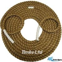 24mm Natural Manila Tug of War Rope x 5m