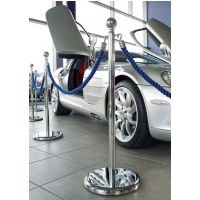 Classic Polished Chrome Rope Stand