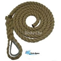 28mm Polyhemp Gym Climbing Rope (Customise Upto 15m)