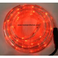Red LED Rope Light 9m for in & Outdoor use & controller