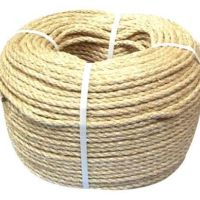 Natural Sisal Rope - 10mm x 220m Roll/Coil