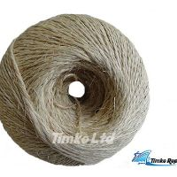Sisal twine string 2 Ply 2/300m Ball White 2.5kg - Length 750m