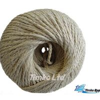 Sisal twine string 3 Ply 3/150m Ball White 2.5kg - Length 375m