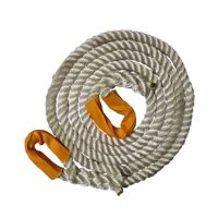 4 Metres x 24mm 3-Strand Nylon Recovery/Tow Rope