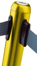 Safety Yellow Flexibarrier Queuing Post With Strap